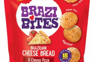 3 CHEESE PIZZA BRAZILIAN CHEESE BREAD