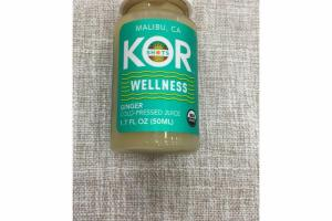 WELLNESS GINGER COLD-PRESSED JUICE
