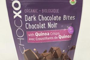 Organic Dark Chocolate Bites