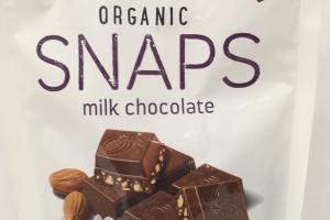 Organic Snaps Milk Chocolate