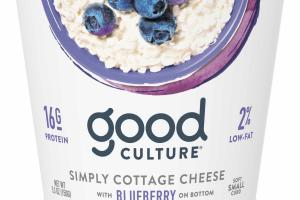 Simply Cottage Cheese With Blueberry
