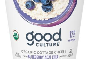 Organic Blueberry Acai Chia Cottage Cheese
