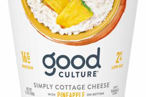Simply Cottage Cheese With Pineapple