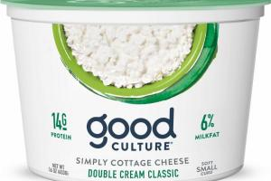 DOUBLE CREAM CLASSIC SOFT SMALL CURD SIMPLY COTTAGE CHEESE