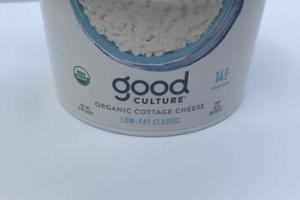 LOW-FAT CLASSIC ORGANIC COTTAGE CHEESE