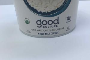 ORGANIC WHOLE MILK CLASSIC COTTAGE CHEESE