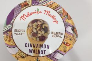 Cinnamon Walnut Breakfast Bowl
