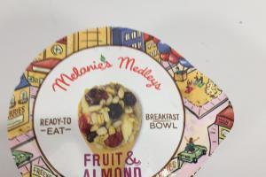 Fruit & Almond Artisan Grains Breakfast Bowl