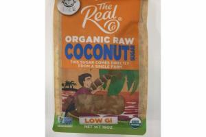 ORGANIC RAW COCONUT SUGAR