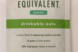 Drinkable Oats