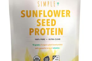 SIMPLE SUNFLOWER SEED PROTEIN
