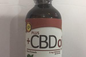 CBD Oil Raw Drops - Peppermint