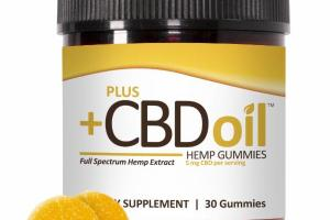 FULL SPECTRUM HEMP EXTRACT DIETARY SUPPLEMENT GUMMIES
