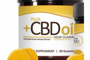 CITRUS PUNCH HEMP GUMMIES DIETARY SUPPLEMENT