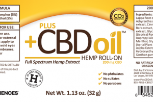 FULL SPECTRUM HEMP EXTRACT HEMP ROLL-ON