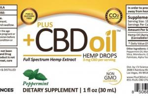 PEPPERMINT FULL SPECTRUM HEMP EXTRACT DIETARY SUPPLEMENT