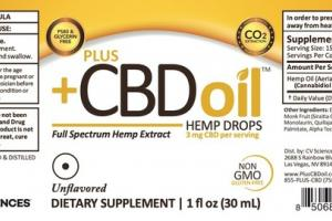 UNFLAVORED FULL SPECTRUM HEMP EXTRACT DIETARY SUPPLEMENT