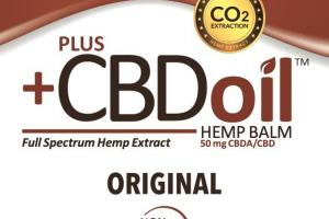 FULL SPECTRUM HEMP EXTRACT CBDA/CBD 50 MG BALM, ORIGINAL