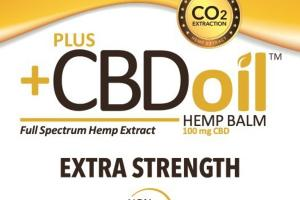 EXTRA STRENGTH FULL SPECTRUM HEMP EXTRACT CBD 100 MG BALM