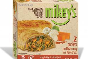Spinach, Cauliflower & Butternut Squash With Turmeric Curry In A Paleo Crust