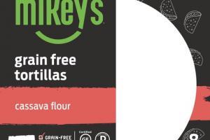 CASSAVA FLOUR GRAIN FREE TORTILLAS
