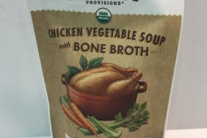 Chicken Vegetable Soup With Bone Broth