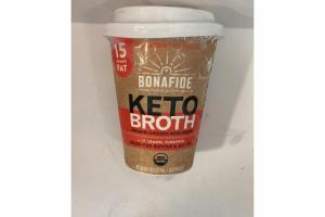 GRASS-FED BUTTER & MCT OIL ORGANIC KETO CHICKEN BONE BROTH