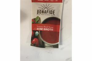 ORGANIC TOMATO BASIL SOUP WITH CHICKEN BONE BROTH