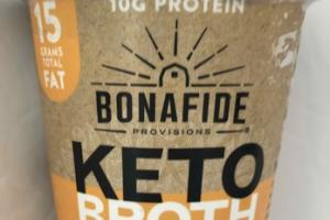 KETO BROTH ORGANIC CHICKEN BONE BROTH WITH BUTTER & MCT OIL