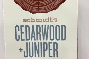 Cedarwood + Juniper Natural Soap