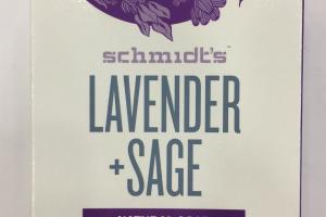 Lavender + Sage Natural Soap