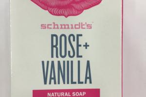 Rose + Vanilla Natural Soap