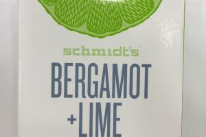Natural Soap For Face & Body, Bergamot + Lime