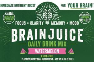 GLUTEN-FREE DAILY DRINK MIX WATERMELON FLAVORED NUTRITIONAL SUPPLEMENT