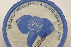 Organic India-style Almond Milk Yogurt