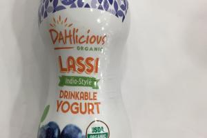 Organic Lassi India-style Drinkable Yogurt