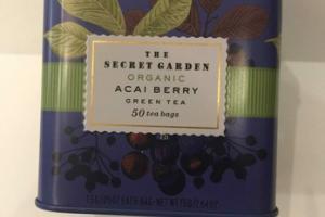 ORGANIC ACAI BERRY GREEN TEA
