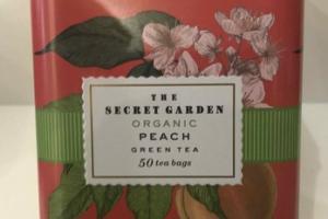 ORGANIC PEACH GREEN TEA BAGS