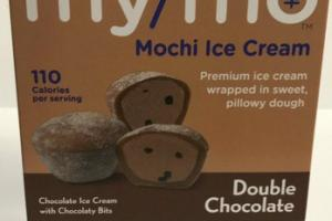 DOUBLE CHOCOLATE MOCHI ICE CREAM