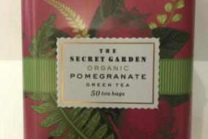 ORGANIC POMEGRANATE GREEN TEA BAGS