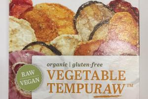 Organic Vegetable Tempuraw