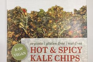 Hot & Spicy Kale Chips