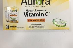 Mega-liposomal Vitamin C Dietary Supplement