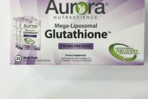 MEGA-LIPOSOMAL DIETARY SUPPLEMENT SINGLE SERVE LIQUID PACKETS