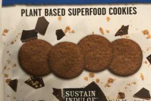 CHOCOLATE CHIA WITH ORGANIC CHIA & FLAX PLANT BASED SUPERFOOD COOKIES