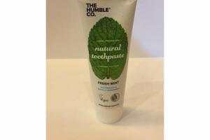FRESH MINT NATURAL TOOTHPASTE