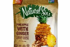 PINEAPPLE WITH GINGER CRISPY CHIPS