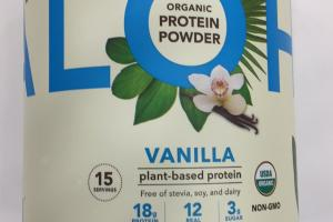 Organic Plant-based Protein Powder
