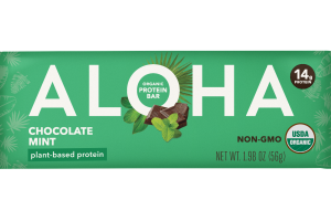 CHOCOLATE MINT ORGANIC PLANT-BASED PROTEIN BARS