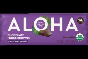 CHOCOLATE FUDGE BROWNIE ORGANIC PROTEIN BAR
